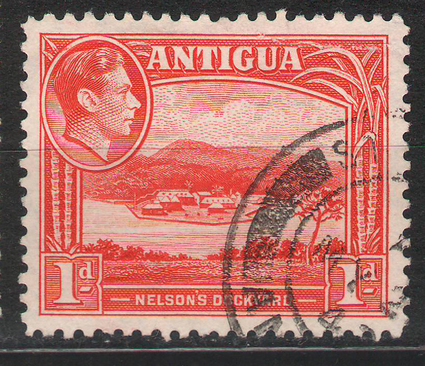 Antigua - 1938 - 1d Very Fine Used