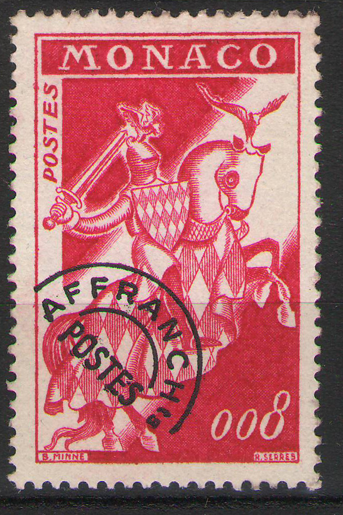 Monaco - 1960 - prcancelled 0,08F - MNH **