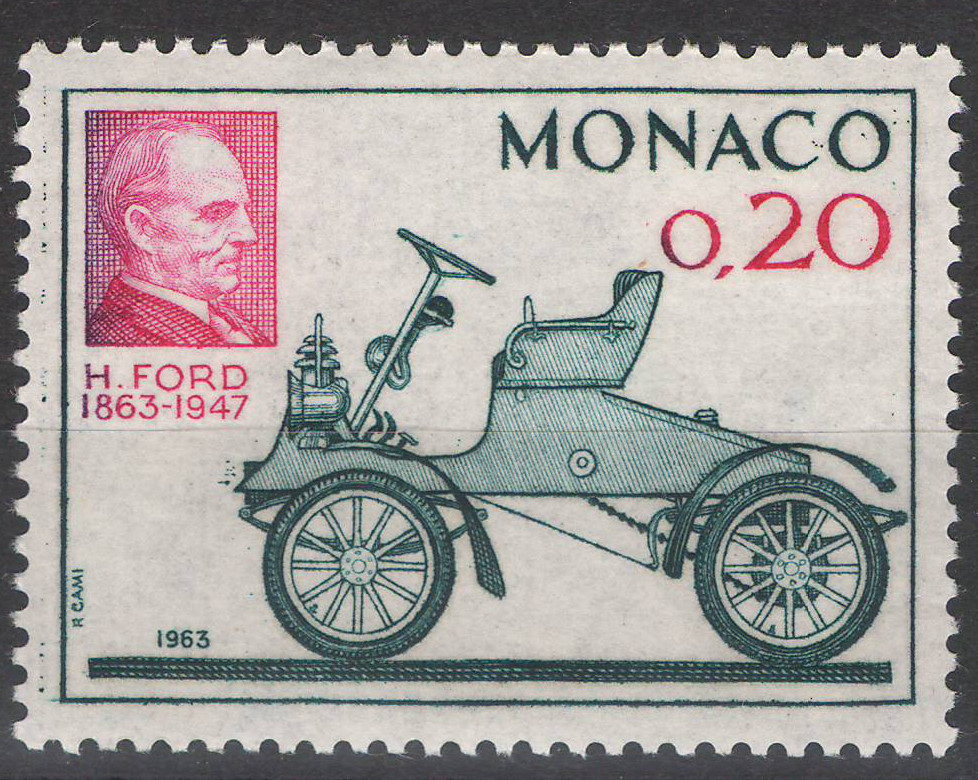 Monaco - 1963 - Henry Ford - MNH