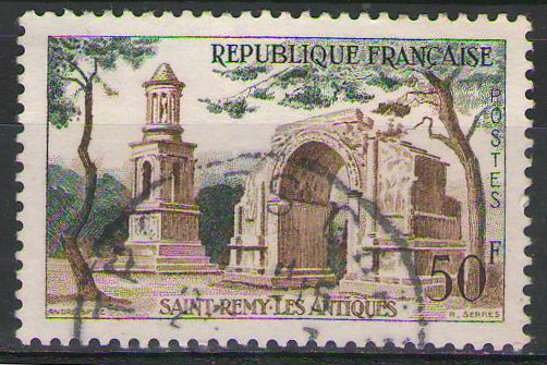 France - 1957 - 50fr Saint Remy - used
