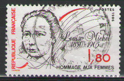 France - 1986 Louise Michel - 1,80Fr- Used